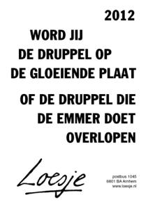 druppel_2012_loesje